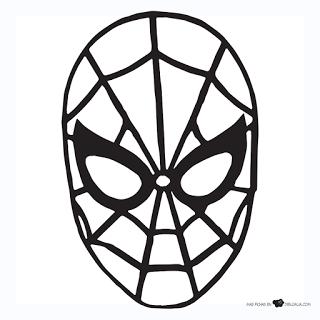 Mascara Do Homem Aranha So Escola