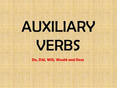 INGLÊS   Aprenda Verbos auxiliares (Auxiliary verbs)