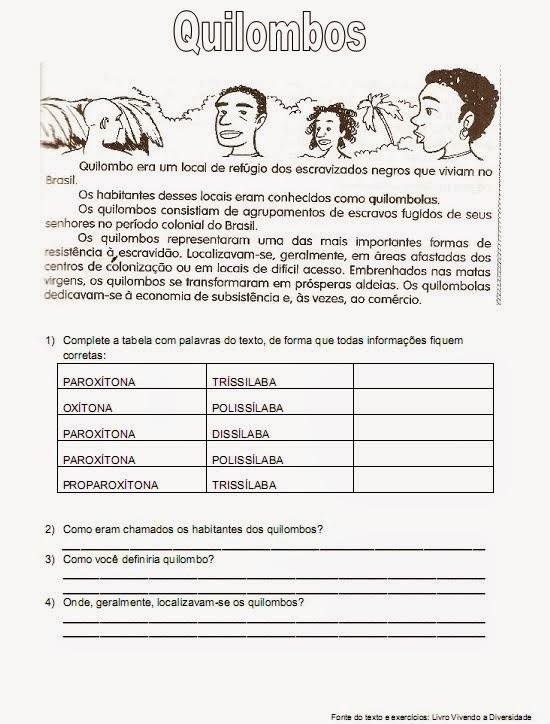 Confira !! ATIVIDADES DIA DA CONSCIÊNCIA NEGRA