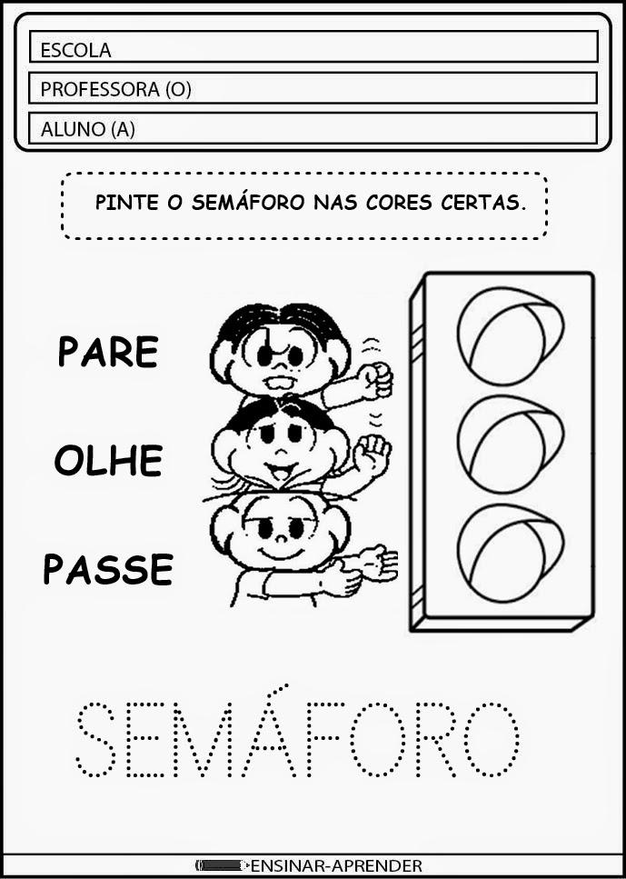 CONFIRA ATIVIDADES ESCOLARES SEMANA DO TRÂNSITO