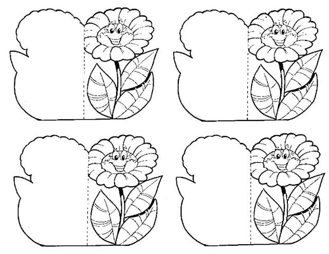 Modelos de cartão de dia das mães para lembrancinha para imprimir