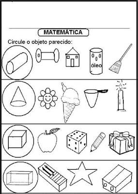 Atividades para 3º ano de matemática para imprimir