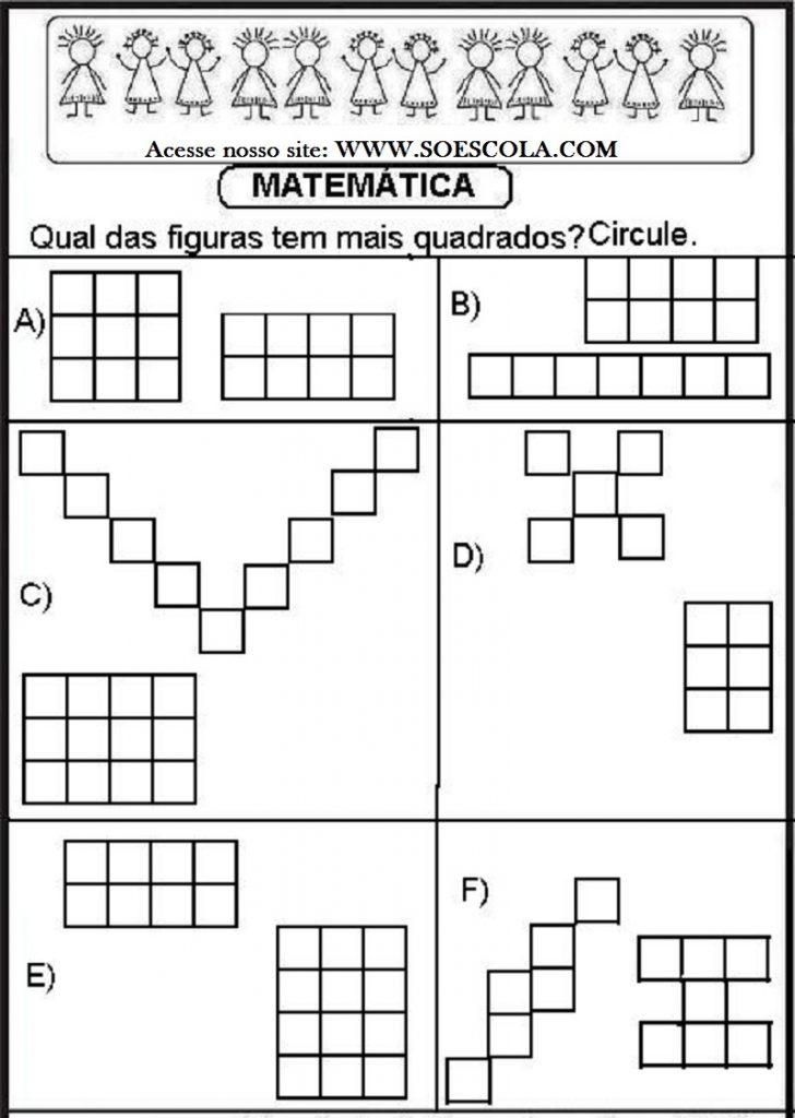 Atividades de Matemática para imprimir para Séries iniciais