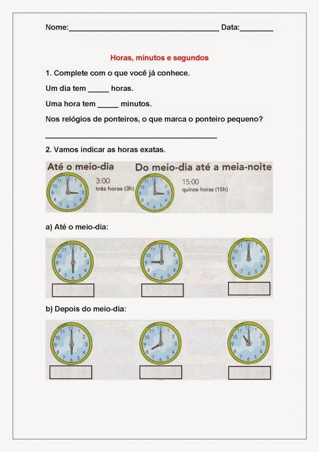 Atividades De Matematica Para Imprimir So Escola