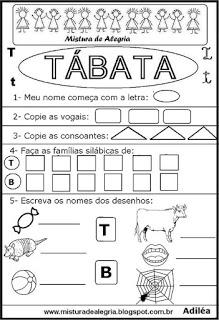 Brincando com os nomes -Tábata