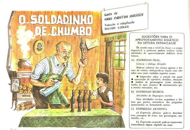 Genero Textuais Conto O Soldadinho De Chumbo Para Imprimir So