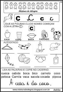 Livro famílias silábicas-letra C