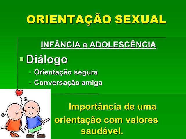 ORIENTAÇÃO SEXUAL: Plano de Aula