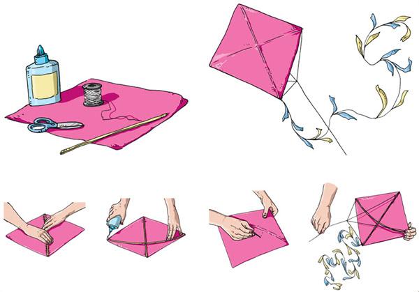 Como fazer uma pipa