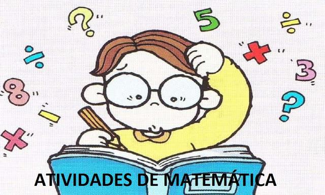 Atividades de Matemática para alunos do 3º Ano