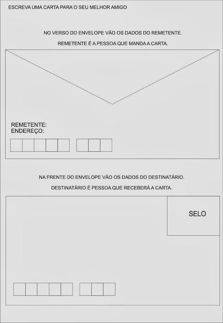 Envelope De Carta Para Imprimir Recipes Site U