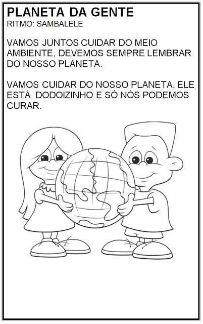 Atividades sobre Meio Ambiente - Planeta da Gente