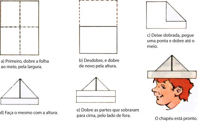 CHAPÉU E BONÉ DE SOLDADO MODELOS ORIGAMI