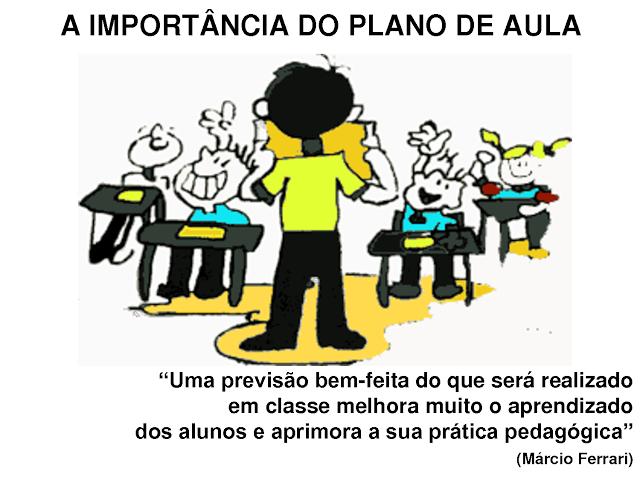 A IMPORTÂNCIA DO PLANO DE AULA