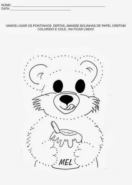 As atividades de educação infantil para imprimir podem ser usadas no dia a dia e ajudam na coordenação motora dos educandos, além de serem muito divertidas.