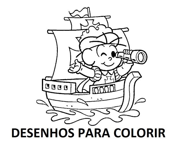 Desenhos para Pintar e Colorir sobre o 7 de Setembro