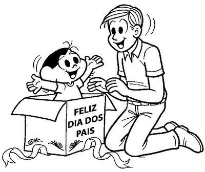 Desenhos Do Dia Dos Pais Para Imprimir E Colorir 01 So Escola