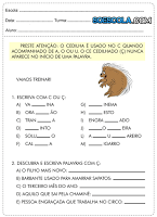 Baixe Atividades Português 4° ano