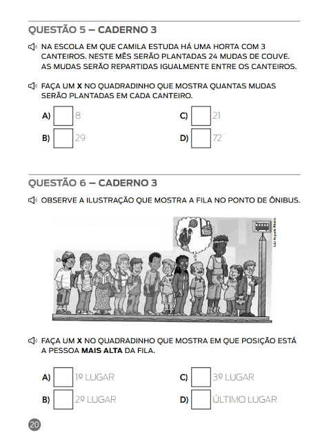 SIMULADO MATEMÁTICA - ANA