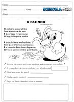 Baixe Atividades de Português para o 2° ano