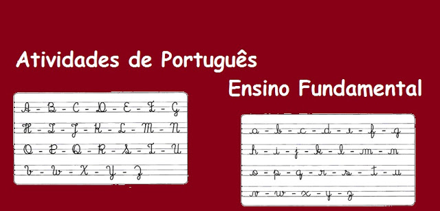 Atividades de Português para o Ensino Fundamental