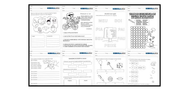 Baixe em PDF - Atividades de Português para o 2° ano do ensino fundamental