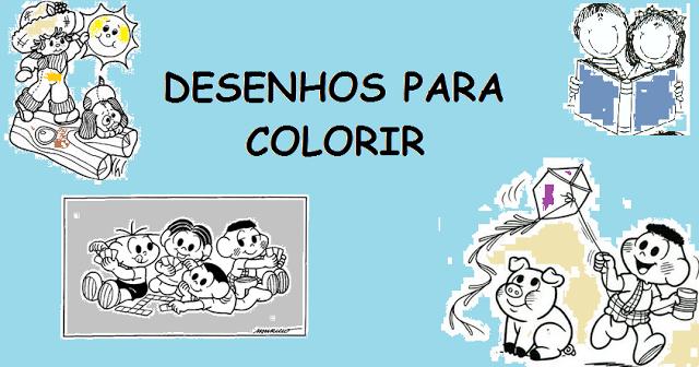 Desenhos para Imprimir e Colorir sobre o dia das Crianças