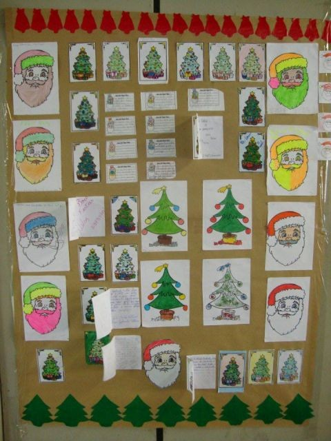 Mural De Natal Educacao Infantil So Escola