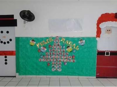 Muraldenatalparaeducacaoinfantil s escola for Mural sobre o natal
