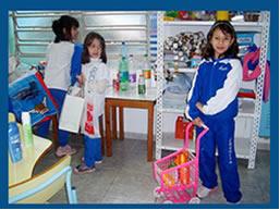 Simulação de compras na sala de aula