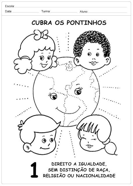 Atividades Direito das Crianças