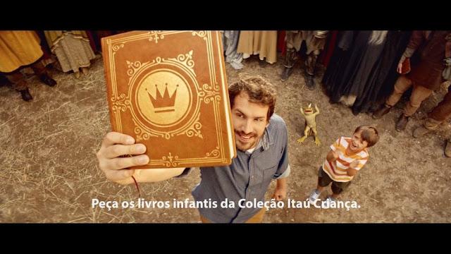 Você não precisa ser um cliente Itaú para receber os livros em casa. (Foto: Divulgação)