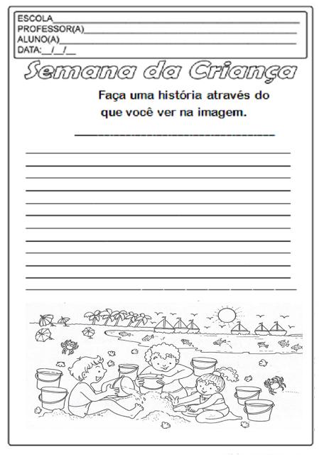 Produção de Texto - Semana da Criança