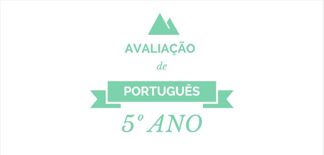 Avaliação de Português 5º ano