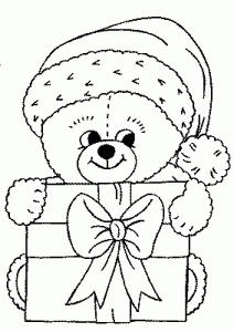 Desenhos De Natal Bonitos Lindos Cutes Para Colorir Pintar