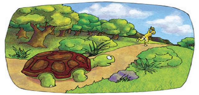 """""""A Lebre e a Tartaruga"""""""