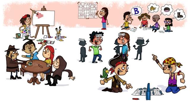 Com apenas um pedaço de papel e um lápis ou caneta é possível entreter as crianças nas férias