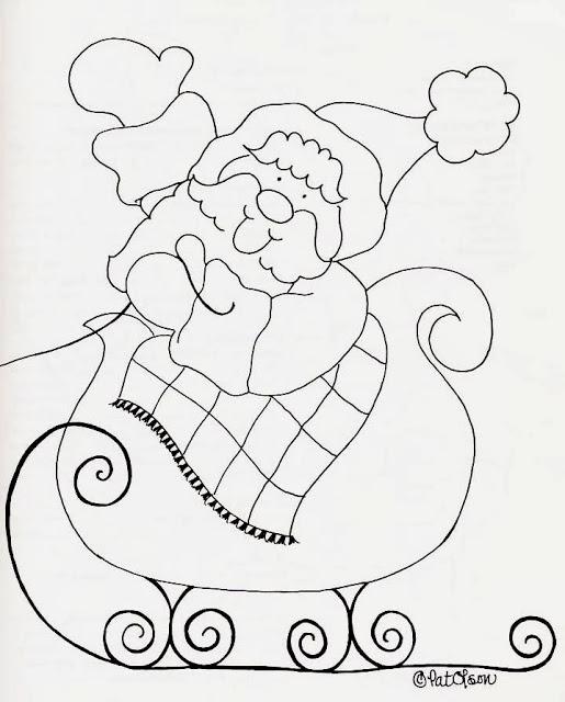 Desenhos de sinos, velas, bonecos e enfeites de natal para colorir