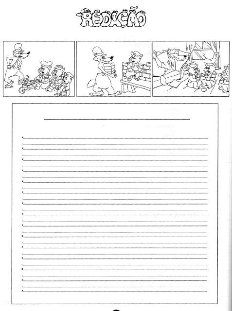 Temas para redação - Atividades para Imprimir