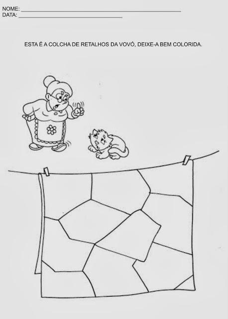 Atividades Artes Educacao Infantil Imprimir Colorir Recortar
