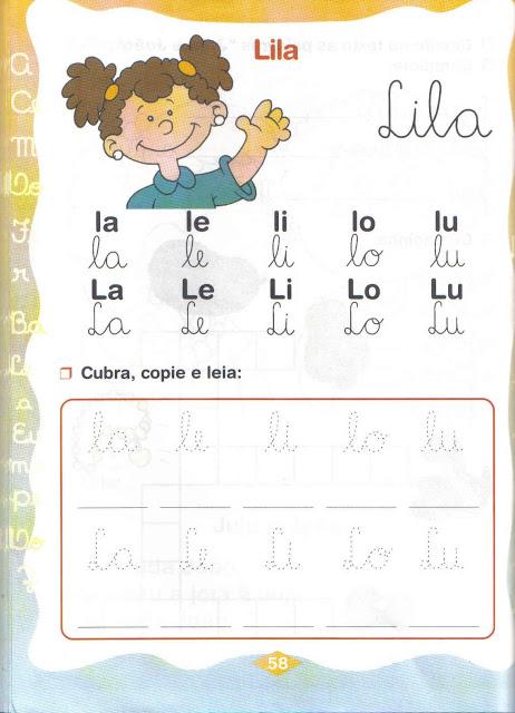 sílabas simples la le li lo lu