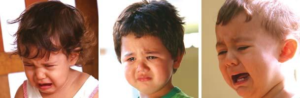 Creche - o que fazer na hora do choro?