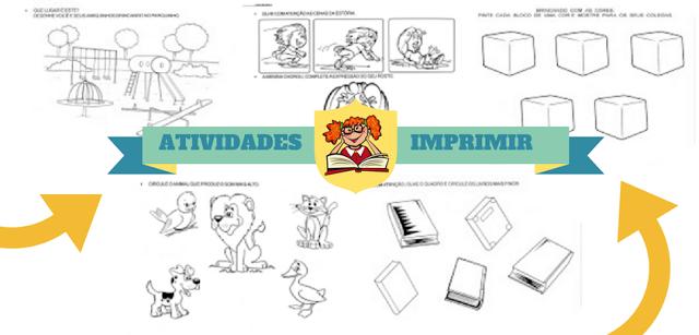 Atividades Maternal e Educação Infantil