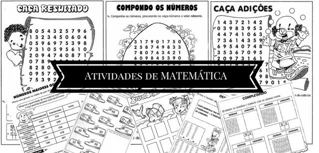Atividades de Matemática para o 3º ano