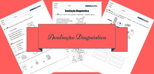 Confira uma Avaliação Diagnóstica para 1º ano pronta para imprimir