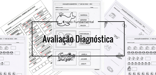 Avaliação Diagnóstica 1º ano Ensino Fundamental