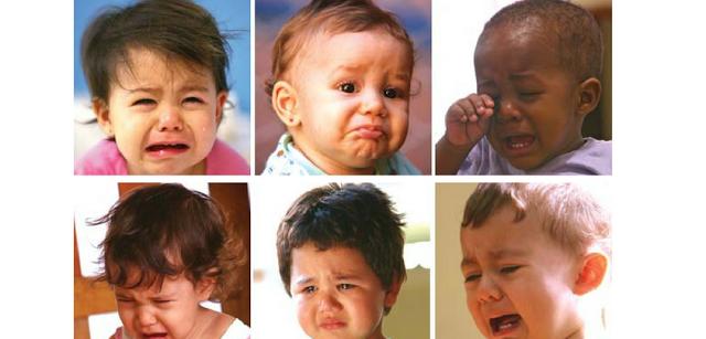 VÁRIOS TIPOS O choro transmite o que os pequenos não sabem dizer. É preciso aprender a identificar a mensagem. Fotos: Kriz Knack