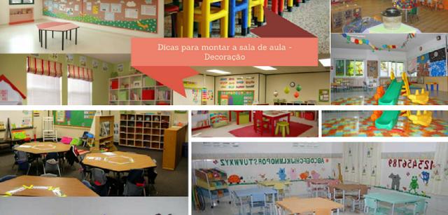 Confira várias dicas e sugestões de organização e manutenção da sala de aula na educação infantil deixando mais alegre e dinâmico.