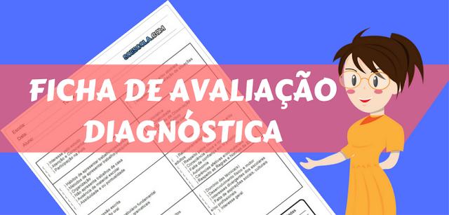 Modelo de FICHA DE AVALIAÇÃO DIAGNÓSTICA