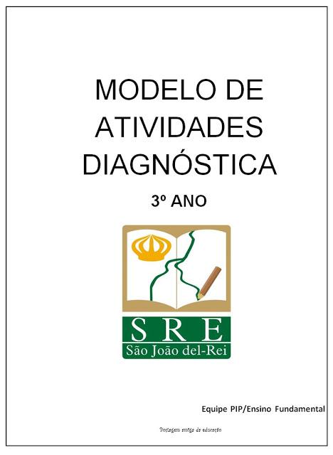 Modelo de atividades diagnósticas